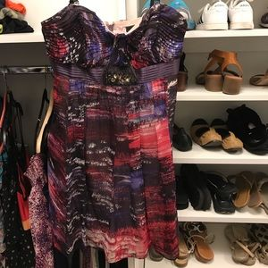 Bcbg colorful dress